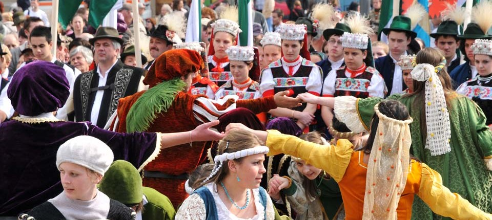 People-medieval-festival-cluj